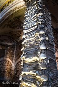 The Chapel of Bones in Evora